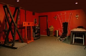 Flogged BDSM Dungeon