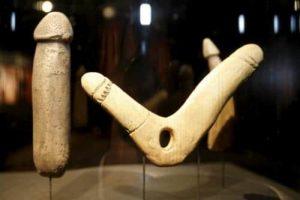 Stone Age Double Dildo