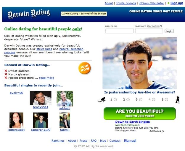 Darwin dating website